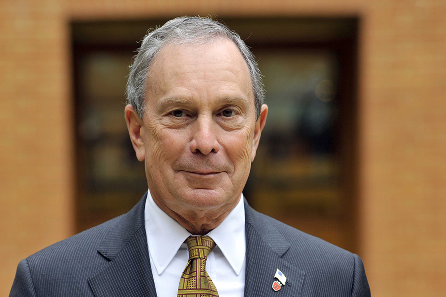 Michael Bloomberg. Credit: Jeff Overs/BBC via Getty Images