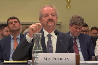 William Perry Pendley, who has been leading the Bureau of Land Management since July, testifies before a House committee. Credit: Congress