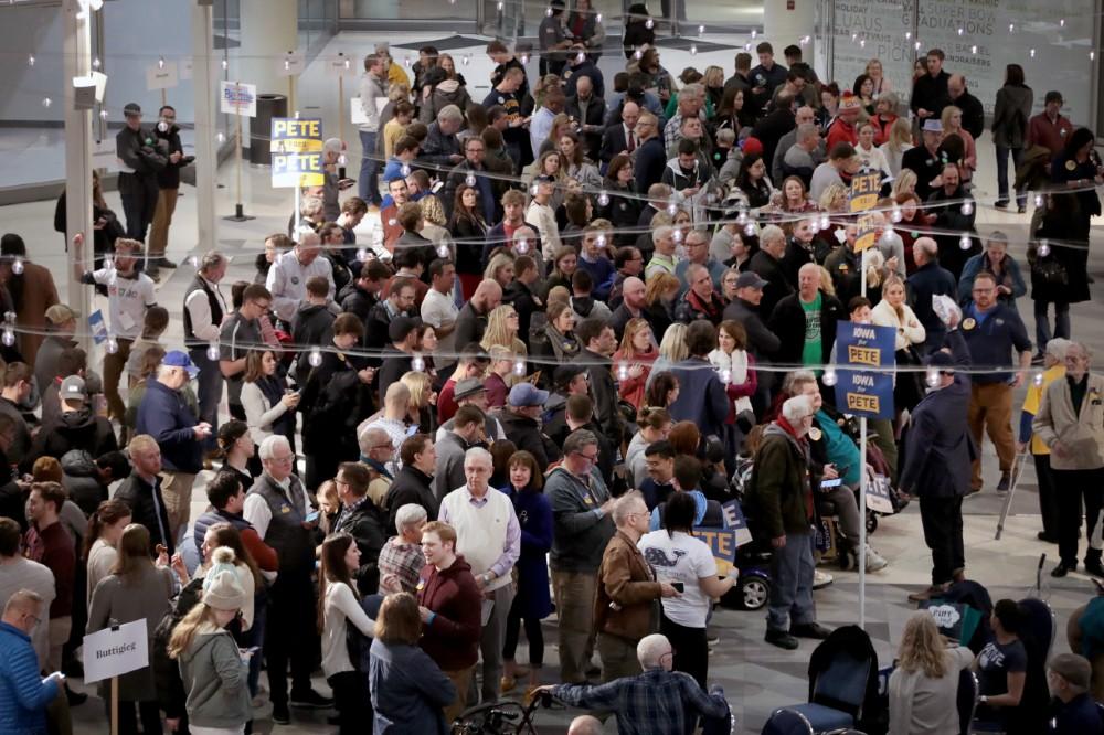 Iowa caucuses. Credit: Scott Olson/Getty Images