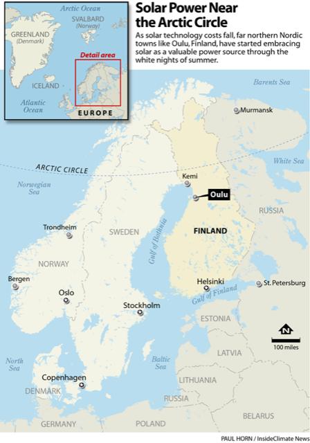 Infographic: Solar Power Near the Arctic Circle