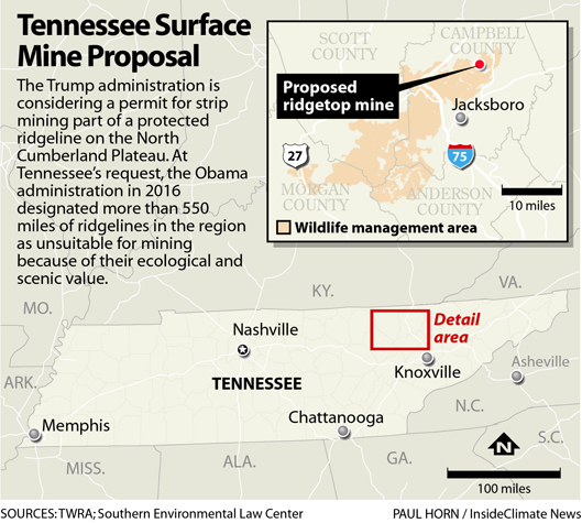 Tennessee Surface Mine Proposal
