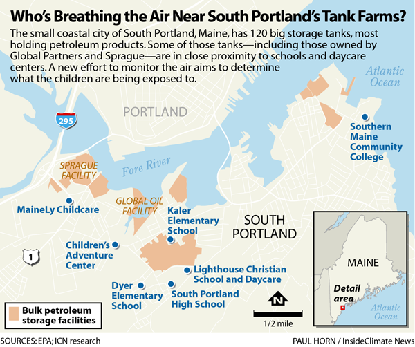 Who's Breathing the Air Near South Portland's Tank Farms?