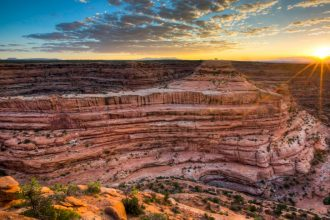 The Cedar Mesa Ruins, were within the Bears Ears National Monument created by President Obama in 2016, but were removed by President Trump in 2017. Now, the Trump administration's recently finalized guidelines allow drilling, mining and development on 2 m