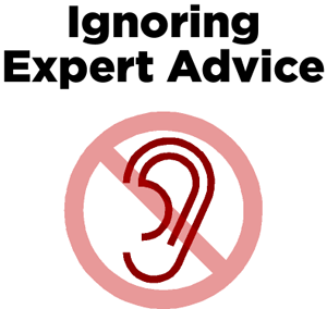 Ignoring Expert Advice