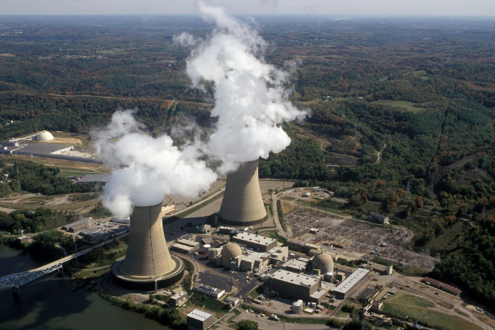 Beaver Valley Nuclear Power Plant. Credit: U.S. Nuclear Regulatory Commission