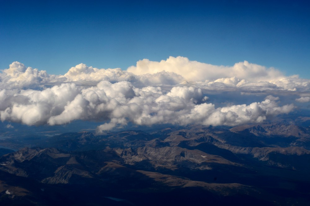 Clouds float in the sky above Colorado. Credit: Robert Alexander/Getty Images