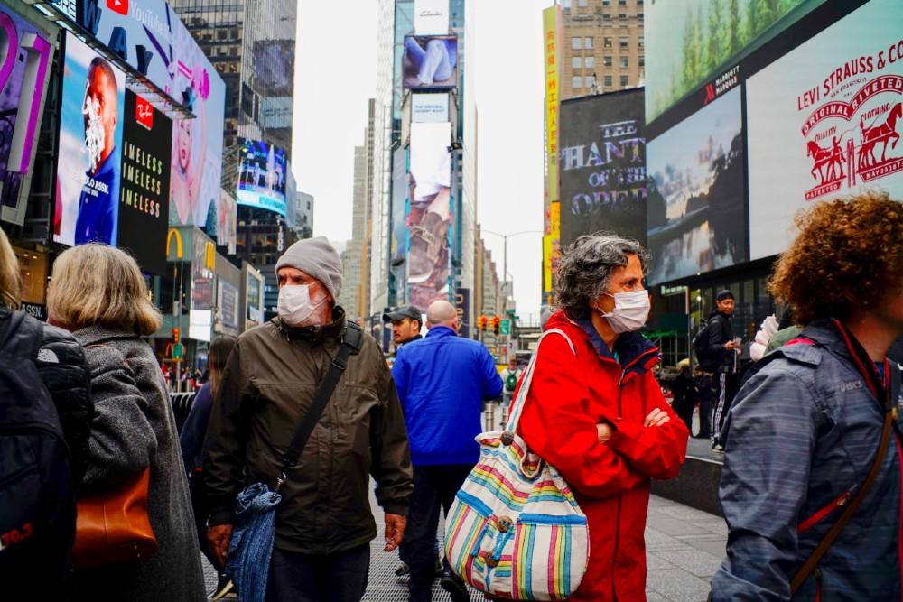 Coronavirus in New York. Credit: Eduardo Munoz/VIEWpress via Getty Images