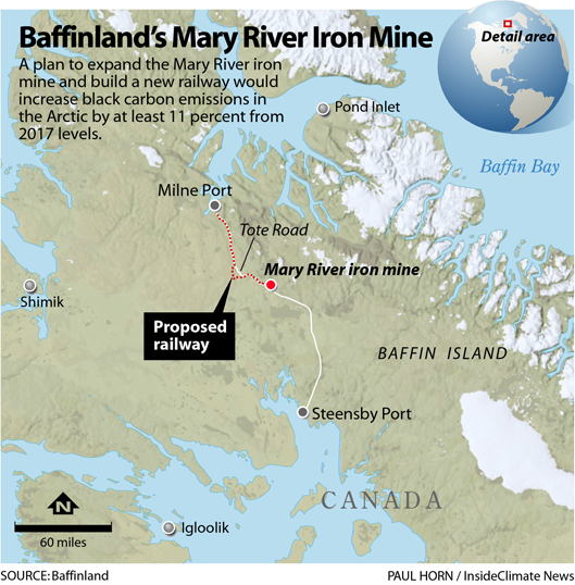 Baffinland's Mary River Iron Mine