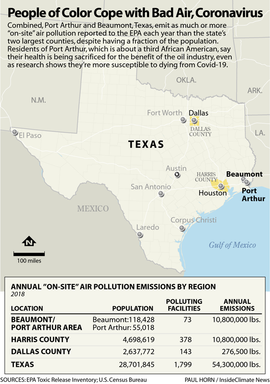 People of Color Cope with Bad Air, Coronavirus