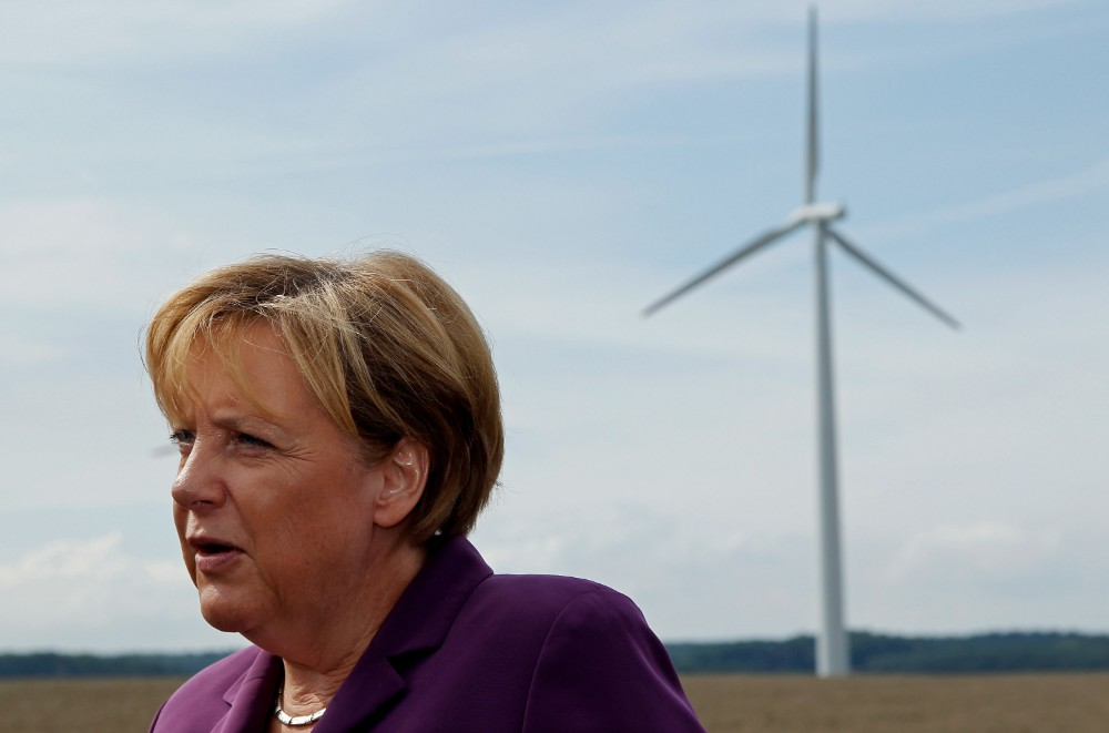 German Chancellor Angela Merkel. Credit: Sean Gallup/Getty Images