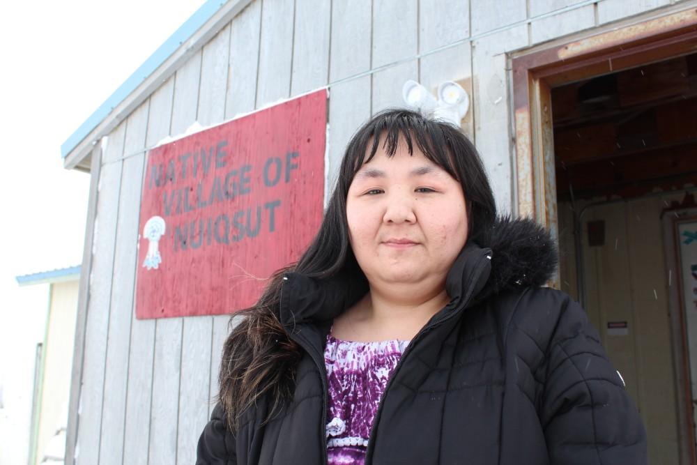 Nuiqsut tribal administrator Martha Itta. Credit: Sabrina Shankman/InsideClimate News