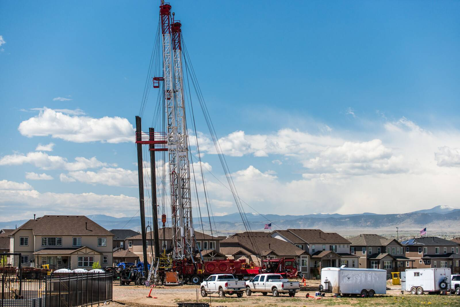 Front Range communities in Colorado are under pressure from oil and gas development next to their neighborhoods. Credit: Ted Wood