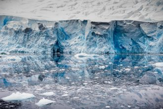 Ice shelves. Credit: Massimo Rumi/Barcroft Media via Getty Images