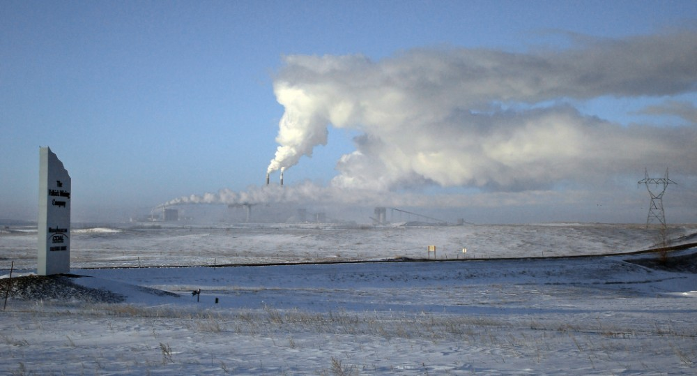 The Coal Creek electric power plant in North Dakota will soon close. Credit: Karen Bleier/AFP via Getty Images