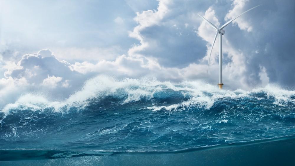 Illustration of 14-megawatt wind turbine. Credit: Siemens Gemesa