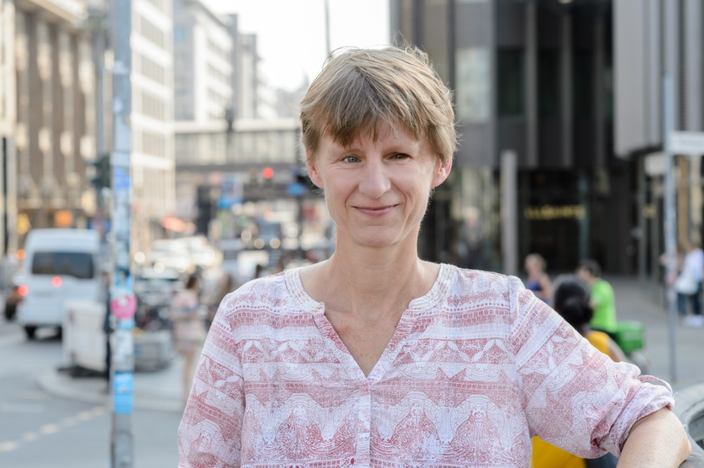 Dorothee Saar is head of the transportation and air quality for Deutsche Umwelthilfe, a prominent German environmental group. Courtesy of Dorothee Saar