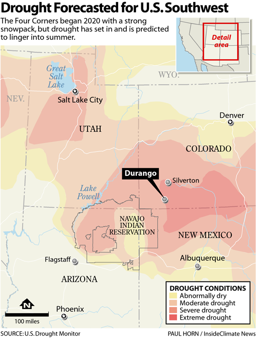 Drought Forecasted for U.S. Southwest