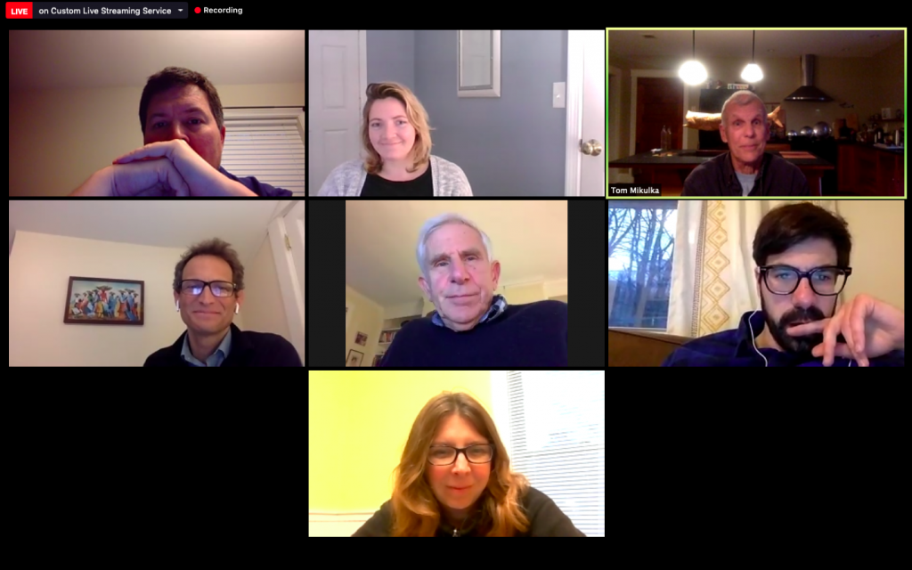 Since the coronavirus put an end to public meetings, South Portland's Clean Air Advisory Committee has been meeting via Zoom.