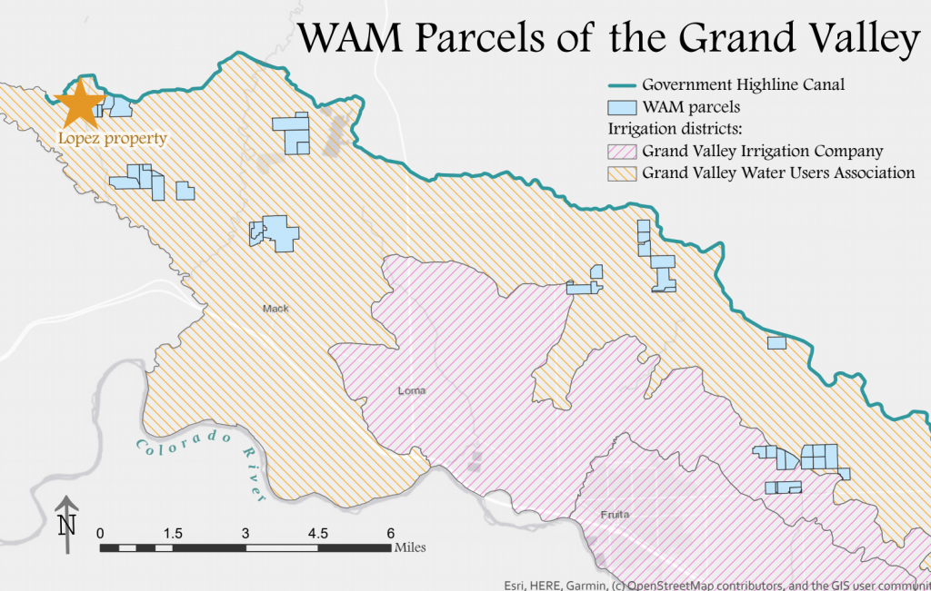 WAM Parcels of the Grand Valley