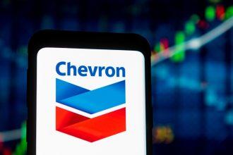 Chevron. Credit: Mateusz Slodkowski/SOPA Images/LightRocket via Getty Images
