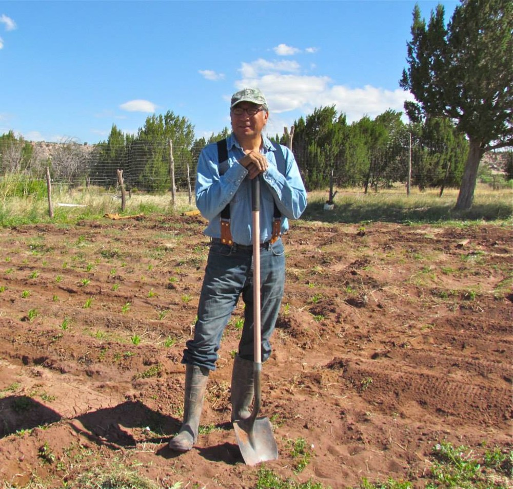Jim Enote, director of the Colorado Plateau Foundation, has observed the climate changing firsthand, farming in Zuni, New Mexico.