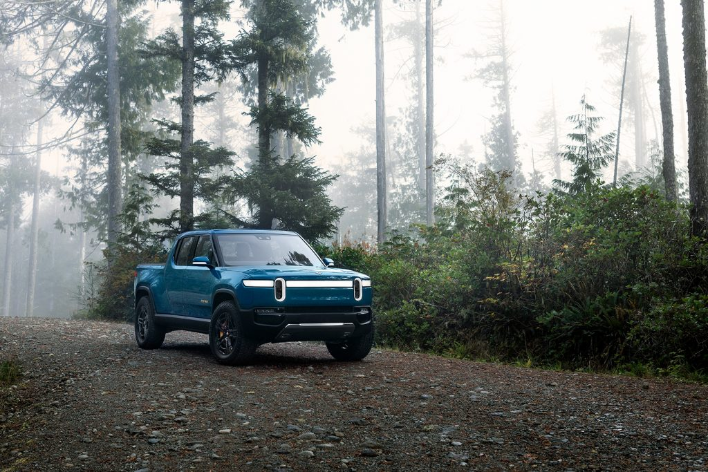 The Rivian R1T is one of the electric truck models that could be on the market in the next two years. Credit: Rivian