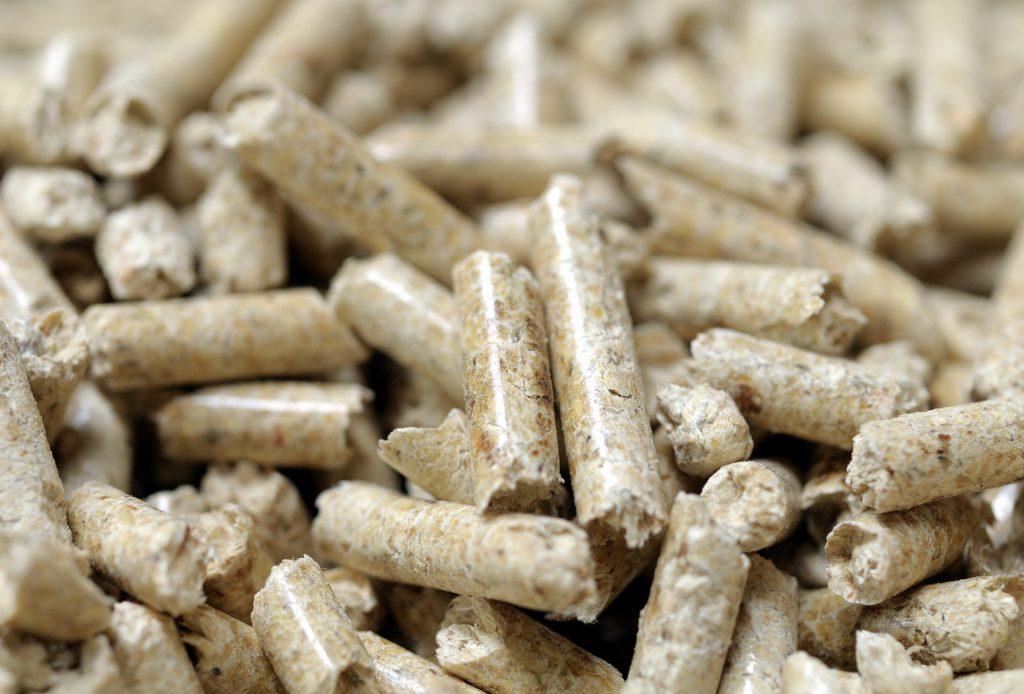 Wood pellets used for heating. Credit: Unkel/ullstein bild via Getty Images