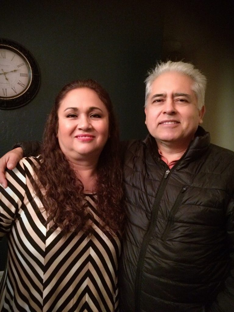 Estela Escoto, president of the Committee for a Better Arvin, and her husband, Roberto. Photo Courtesy of Estela Escoto