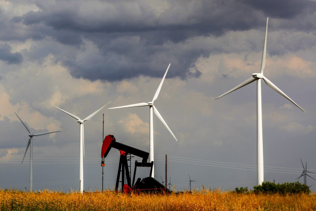 Sweetwater in Texas aims to be the wind energy capitol of the world. Credit: Orjan F. Ellingvag/Corbis via Getty Images
