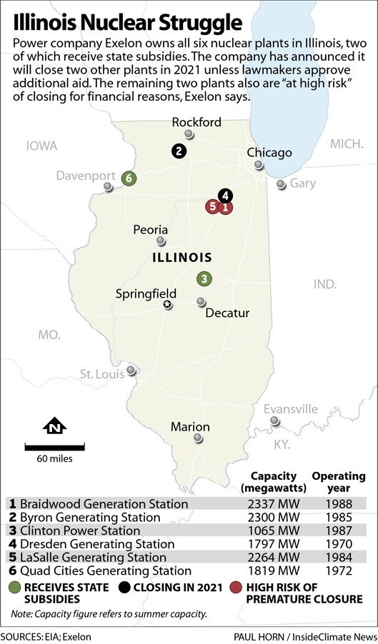 Illinois Nuclear Struggle