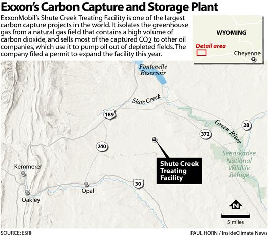 Exxon's Carbon Capture and Storage Plant