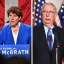 Democrat Lt. Col. Amy McGrath (left) is running against Sen. Mitch McConnell (R-Ky.) to represent Kentucky in the Senate. Credit: Jason Davis/Getty Images; Alex Wong/Getty Images