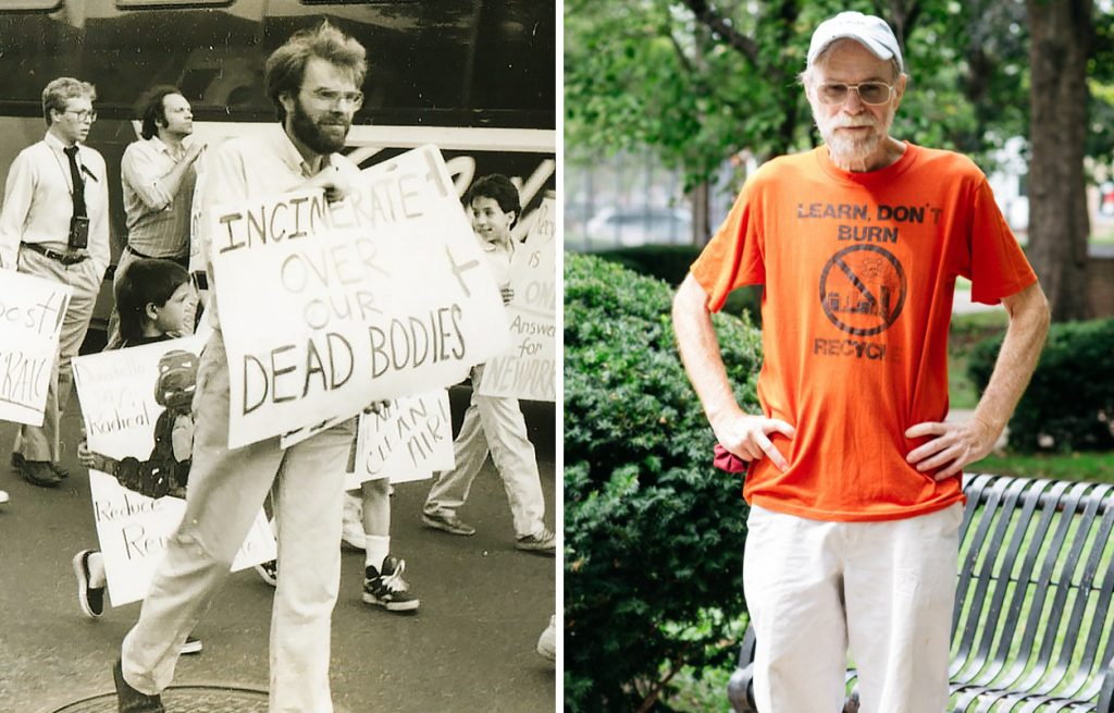 Arnold Cohen has been an activist in the Ironbound for more than 40 years. Credit: Ironbound Community Corporation; Brian Fraser for NBC News