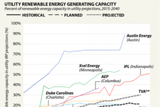 Competing Cities: Renewable Energy Generating Capacity