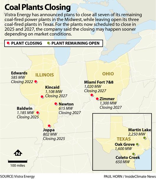 Coal Plants Closing
