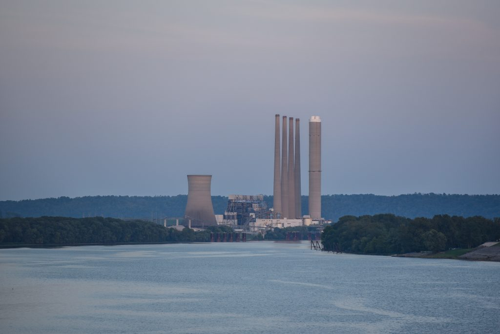 The J.M. Stuart coal-fired power plant in Adams County, Ohio, that was owned by AES Corp. and closed in 2018, part of a continuing wave of coal-plant closings in the Midwest. Vistra Energy said this week it will close its remaining coal plants in the Midw