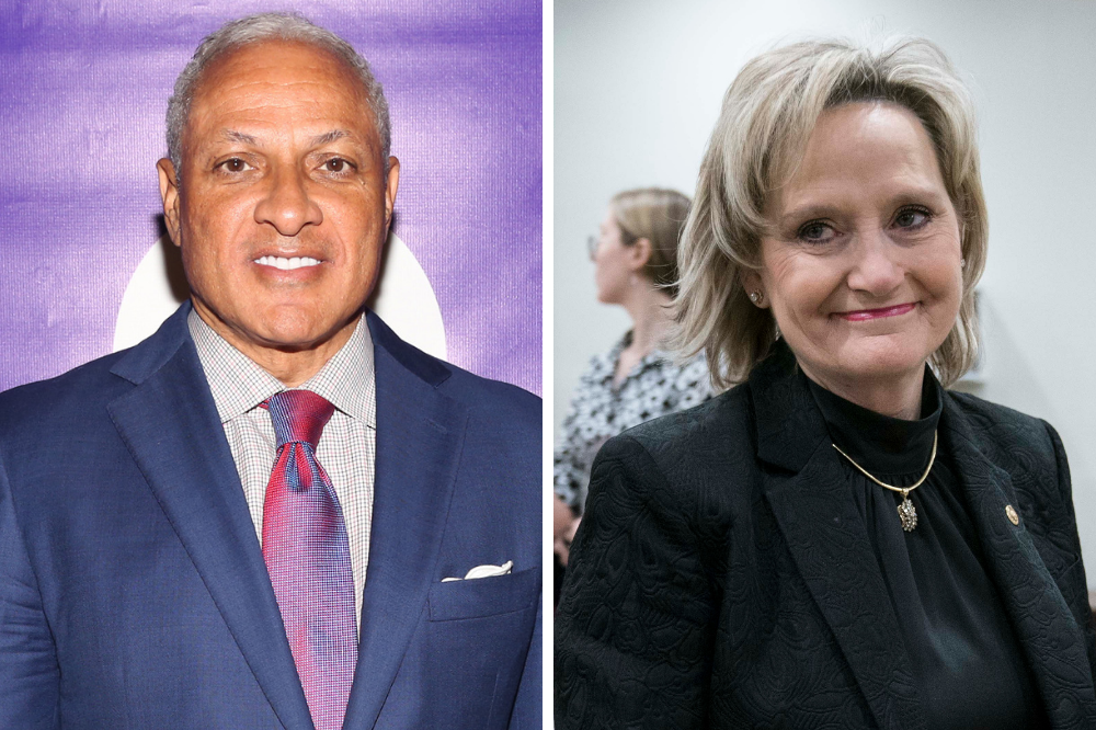 Epsy v. Hyde-Smith. Credit: Sylvain Gaboury/Patrick McMullan via Getty Images; Sarah Silbiger/Getty Images