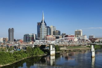 Nashville. Credit: John Greim/LightRocket via Getty Images