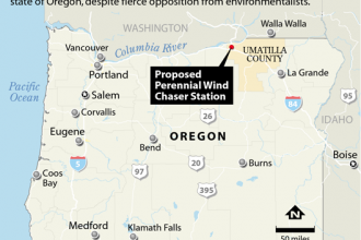Map: Perennial Wind Chaser Station