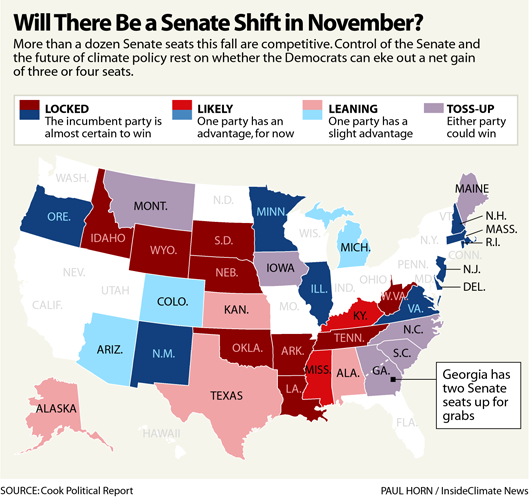 Will There Be a Senate Shift in November?