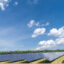 Solar photovoltaic power plant farm installation on Long Island, New York. Ohio now ranks 28th in the country in installed solar capacity, but ranks 14th in projected new capacity coming online in the next five years. Credit: Lev Radin/Pacific Press/LightRocket via Getty Images