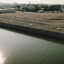 The capped site of the former Diamond Alkali factory on the Passaic River in Newark, New Jersey, which is part of one of the largest and most expensive cleanup projects in the EPA's Superfund program. The community surrounding the toxic site is primarily lower-income Black and brown residents. Credit: NBC News
