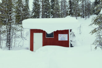 The municipality of Salla in northern Finland created a fictional bid to host the 2032 Summer Olympics to bring attention to climate change. Photo Courtesy of the Save Salla campaign