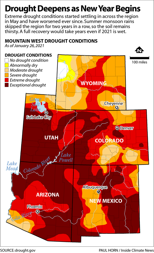 Drought Deepens as New Year Begins