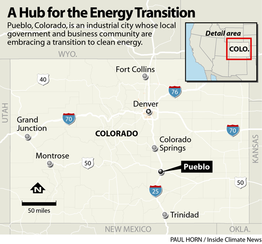 A Hub for the Energy Transition