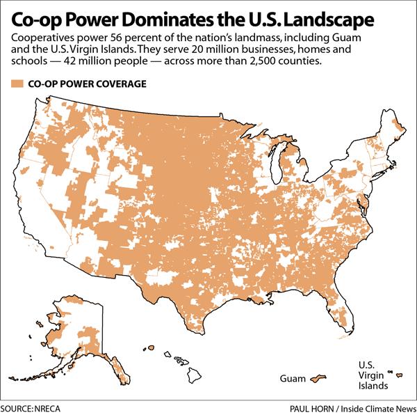 Co-op Power Dominates the U.S. Landscape