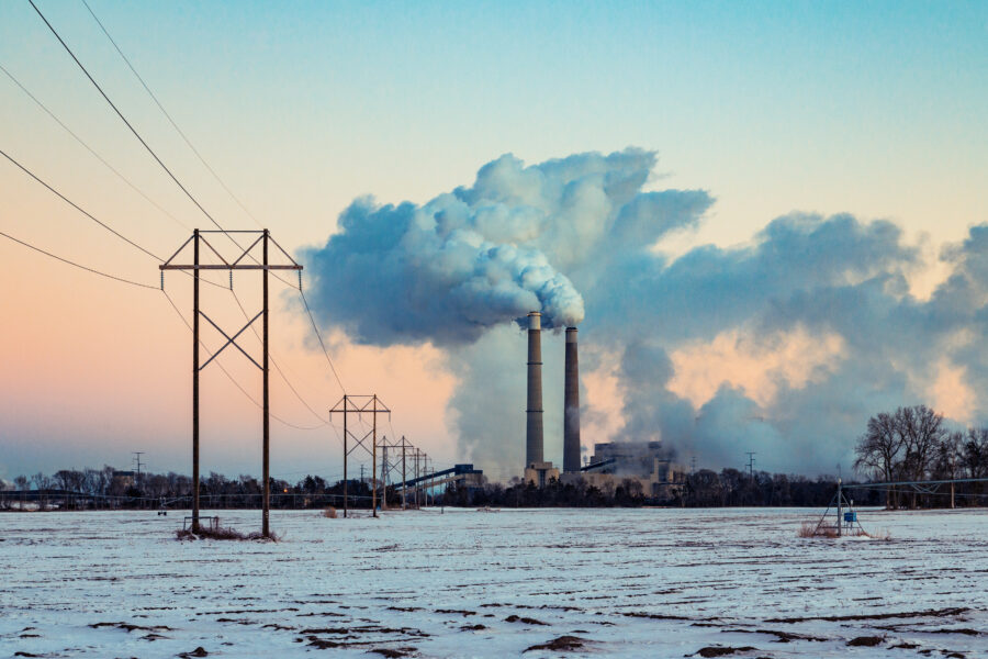 Xcel Energy is proposing to stop burning coal at the Sherburne County Generating Station in Becker, Minnesota, and build a natural gas power plant on the site. Credit: Tony Webster