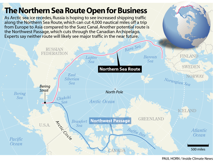 The Northern Sea Route Open for Business