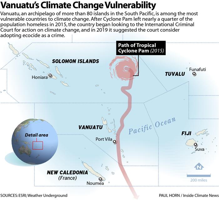 Vanuatu's Climate Change Vulnerability