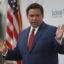 Florida Gov. Ron DeSantis speaks at a new conference in the state held at the Jackson Memorial Hospital on July 13, 2020 in Miami, Florida. Credit: Joe Raedle/Getty Images